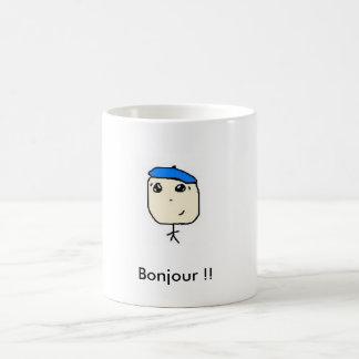 ¡tato franco, Bonjour!! Taza De Café