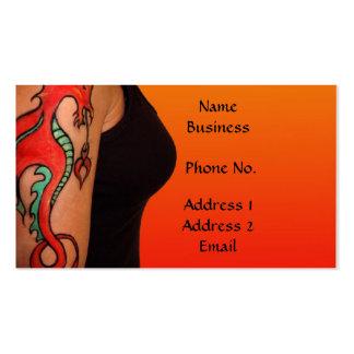 Tatoo Artist Business/Profile Card Business Card