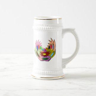 Tatoo extranjero Perforación del cuerpo y arte Di Tazas De Café