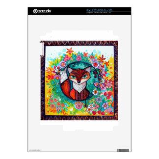 Tatoo fox decal for iPad 2