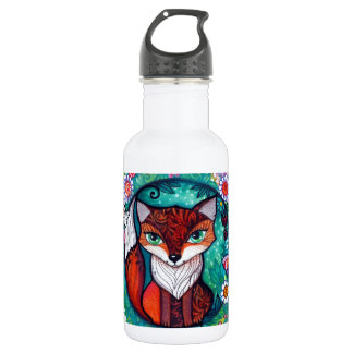Tatoo fox water bottle