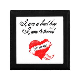 tatoo love mum caja de regalo