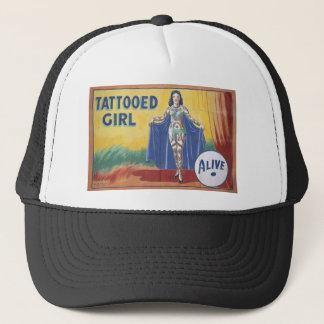 Tatooed Girl Trucker Hat