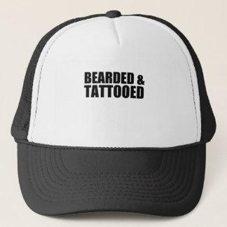 tatooed trucker hat