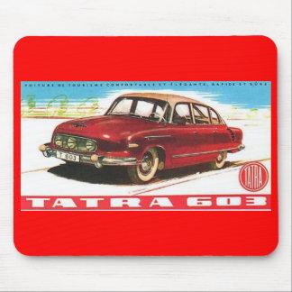 Tatra-603-advert Mouse Pad