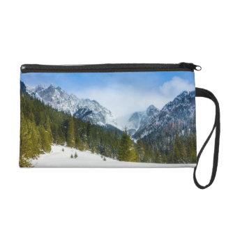 Tatry, paisaje de la montaña, invierno, nieve