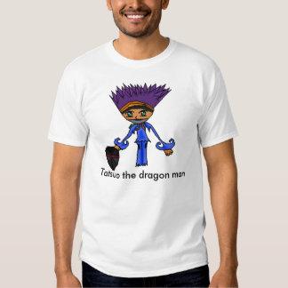 Tatsuo el hombre del dragón poleras
