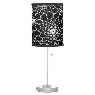 Tatted Lace Lamp