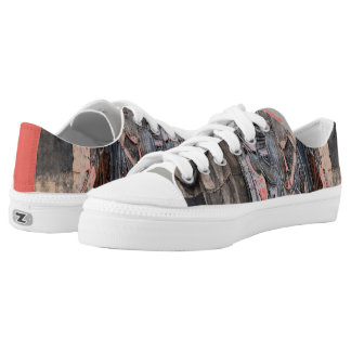 Tatter Chic Low-Top Sneakers