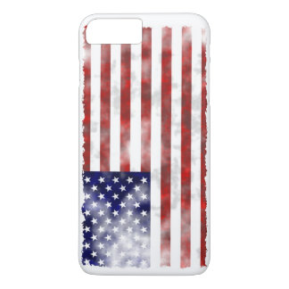 Tattered American Flag iPhone 7 Plus Case