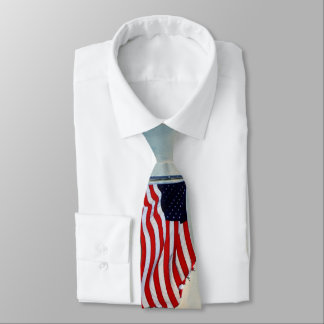 Tattered Flag in Winds of Change Tie