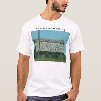 Tattered Old Barn, Still Standing After All The... T-Shirt