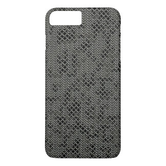 Tattered Silver Medieval Chainmail Armour Texture iPhone 8 Plus/7 Plus Case