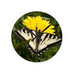 Tattered Swallowtail Wallclock