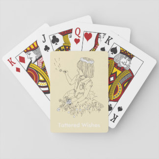 Tattered wishes playing cards