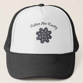 Tatters Are Knotty Trucker Hat