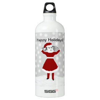 Tattle's Happy Holidays Collection SIGG Traveler 1.0L Water Bottle