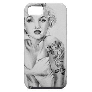 tattoe pin up iPhone SE/5/5s case