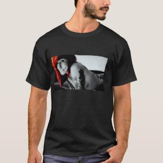tattoed girl t-shirt