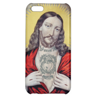 TATTOED JESUS CASE FOR iPhone 5C