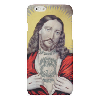 TATTOED JESUS GLOSSY iPhone 6 CASE