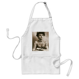 Tattoed With Pearls, Victorian Circus Photo Adult Apron