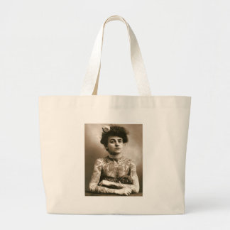 Tattoed With Pearls, Victorian Circus Photo Bags