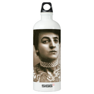 Tattoed With Pearls, Victorian Circus Photo Water Bottle