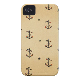Tattoo Anchors Pattern Case-Mate iPhone 4 Case
