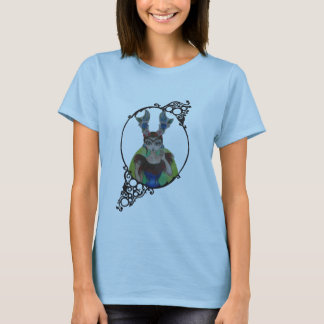 tattoo antlers and corset T-Shirt