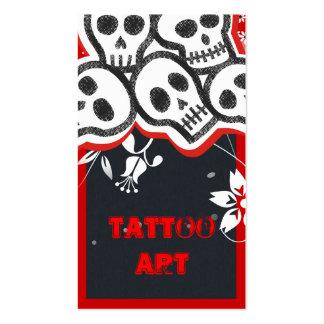 Tattoo Art Business Cards- Skulls