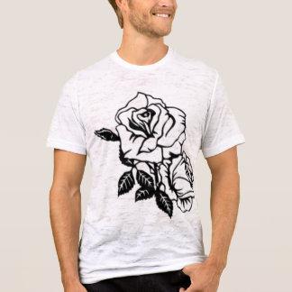 Tattoo Art Style Rose vintage white mens tshirt