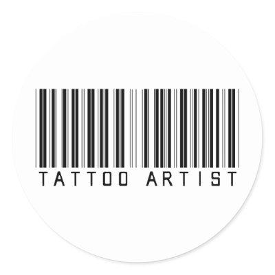 Pink's Barcode tattoo. pink barcode tattoo