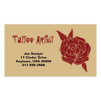 Tattoo Artist Business Card