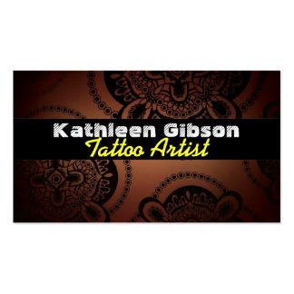 Tattoo Artist Business Cards