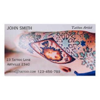 Tattoo Artist Ink Artist Tattoo Parlour Business Card Template