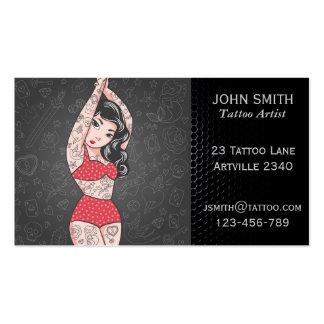 Tattoo Artist Ink Artist Tattoo Parlour Business Card