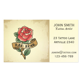 Tattoo Artist Ink Artist Tattoo Parlour Business Card Templates
