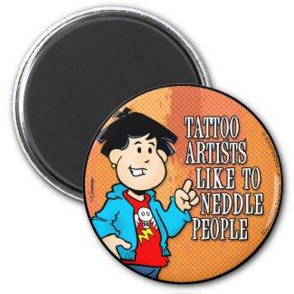 Tattoo Artist Magnet