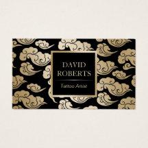 Tattoo Artist Business Card Gallery Business Card Template - Tattoo business card templates