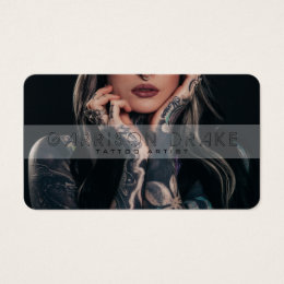 Tattoo Business Cards Templates Zazzle - Tattoo business card templates