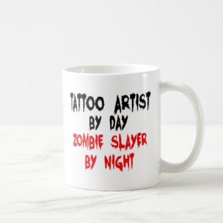Tattoo Artist Zombie Slayer Coffee Mug