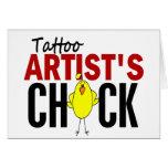Tattoo Artist's Chick Cards