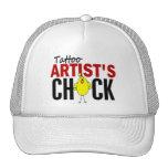 Tattoo Artist's Chick Hats