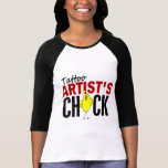 Tattoo Artist's Chick T Shirt