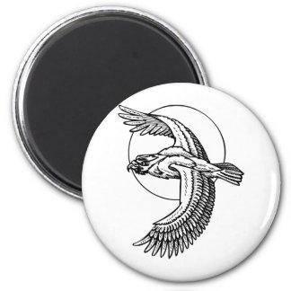 Tattoo Bird 2 Inch Round Magnet