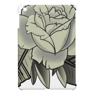 tattoo black rose case for the iPad mini