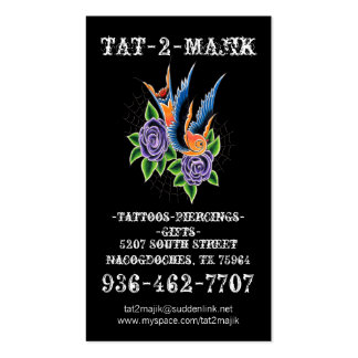 Tattoo Business Card