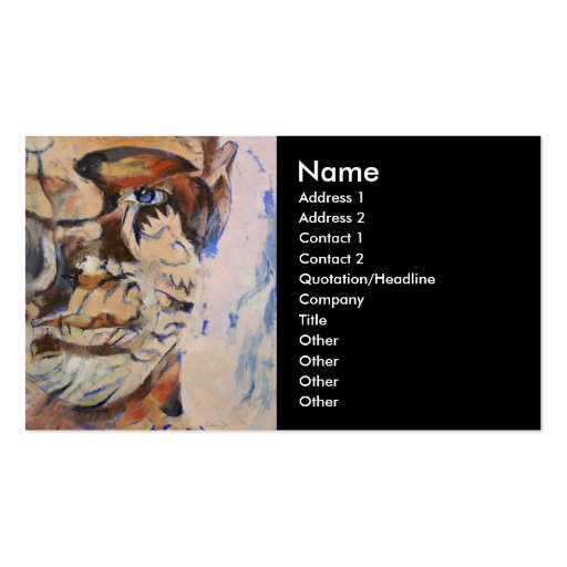 Tattoo business card zazzle for Business card size tattoos