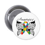 Tattoo Butterfly Awareness - Autism Pins